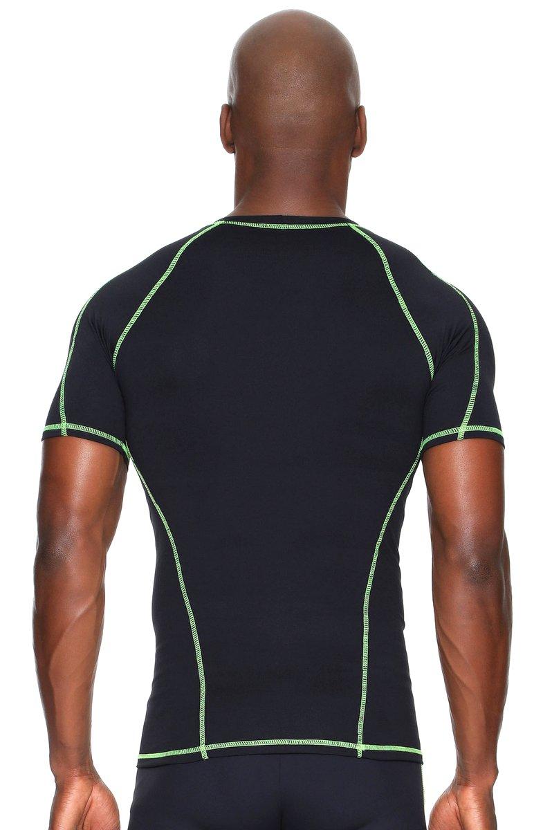 Canoan Camiseta Action Preta e Limão 72001
