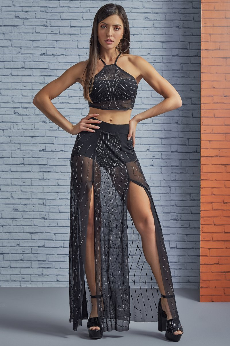 Labellamafia Long Skirt Labellamafia MSA16024