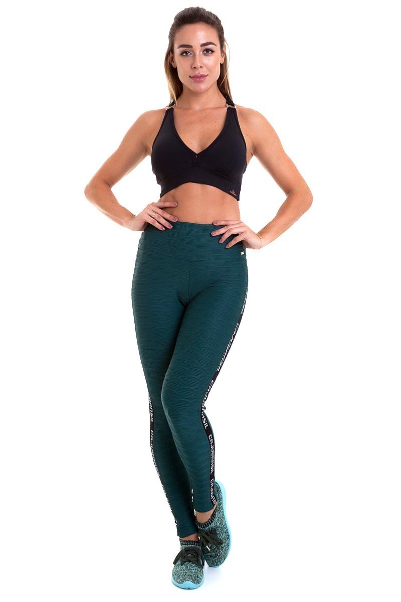 Caju Brasil Calça Legging Fit Verde 9764F8168