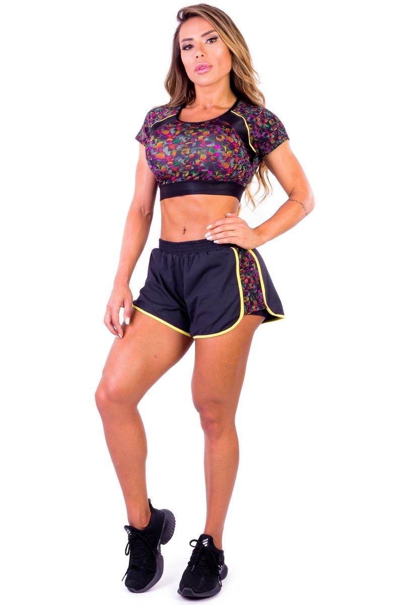Garota Fit Shorts Las Vegas SH465E01