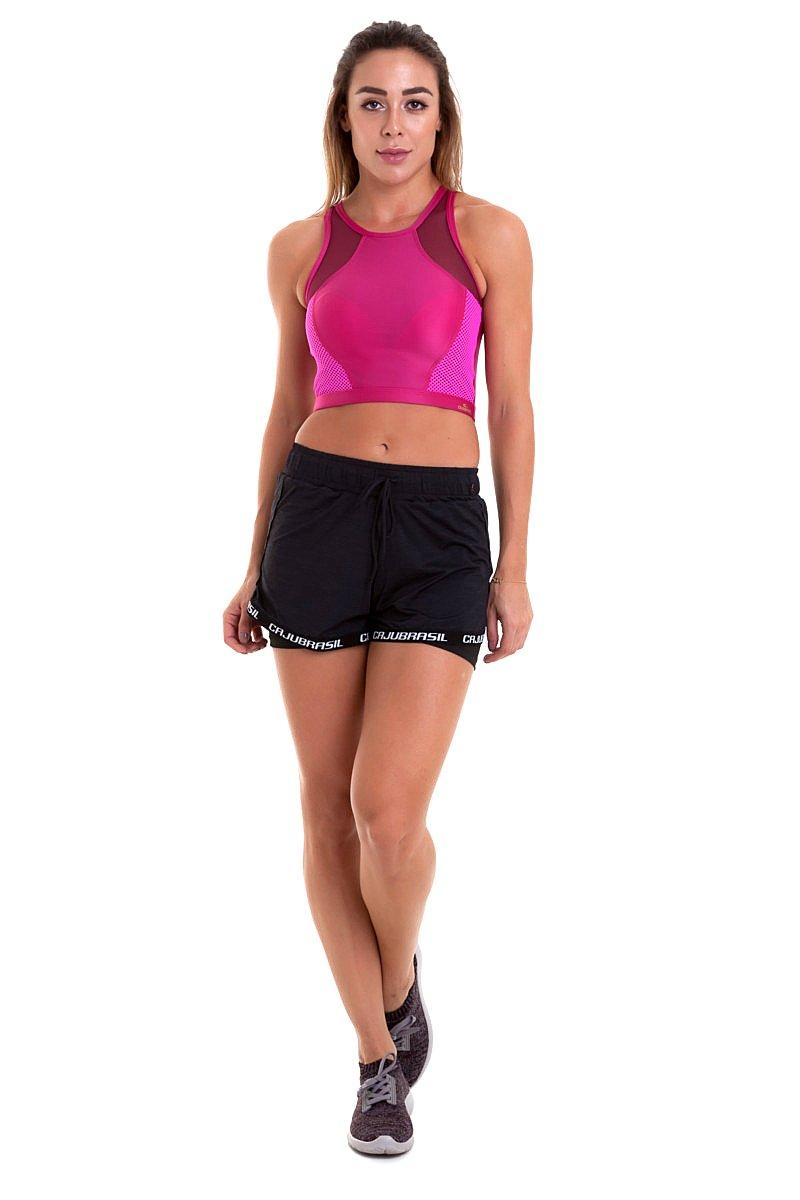 Caju Brasil Fitness Shorts Black 9709F8200