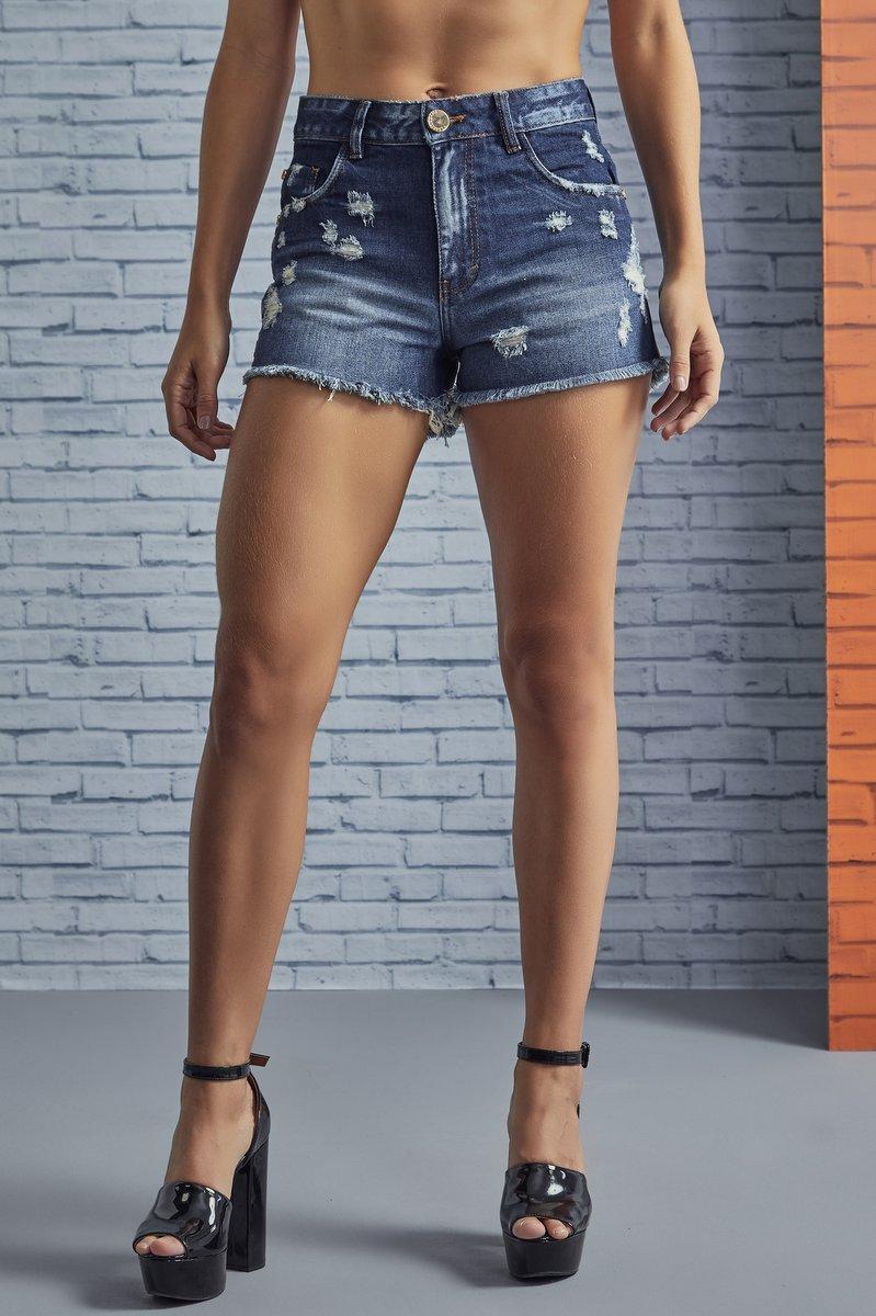 Labellamafia Shorts Jeans Labellamafia SHJ616