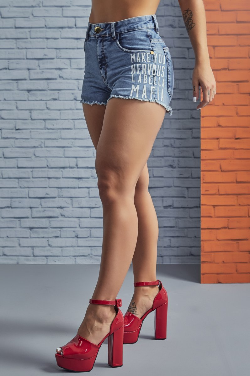 Labellamafia Shorts Jeans Labellamafia SHJ618