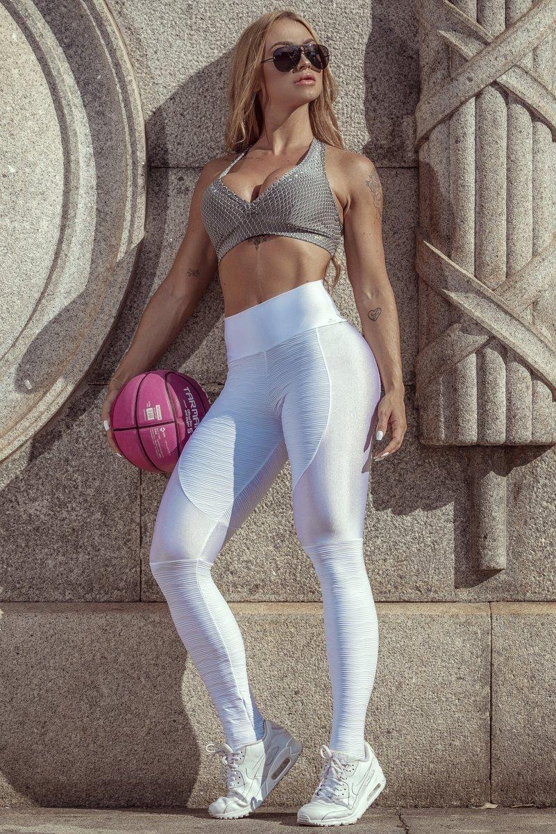Stayfit White Lightness Pants Legging SL123F8100