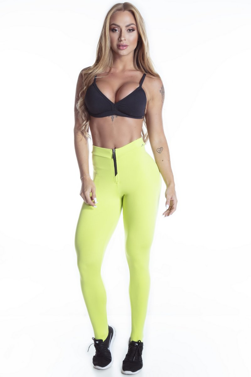 Stayfit Calça Legging Powerful Verde SL124F8165