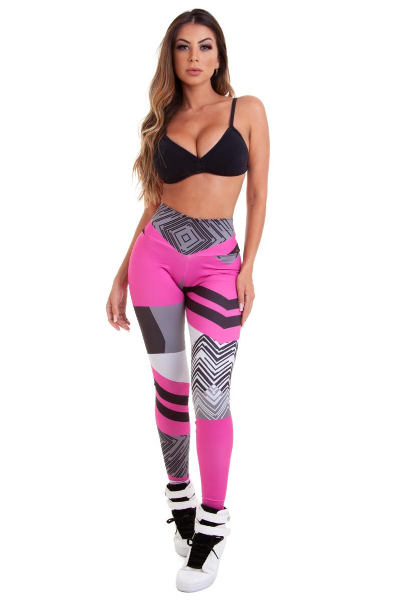 Stayfit Calça Legging Print Colorful SL141F6R09