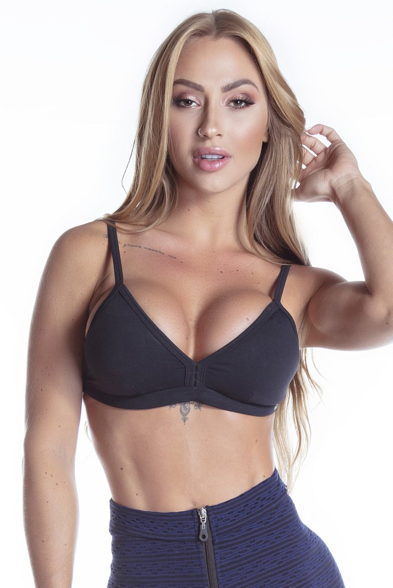 Stayfit Top Bojo Flawless Preto SL74F3200