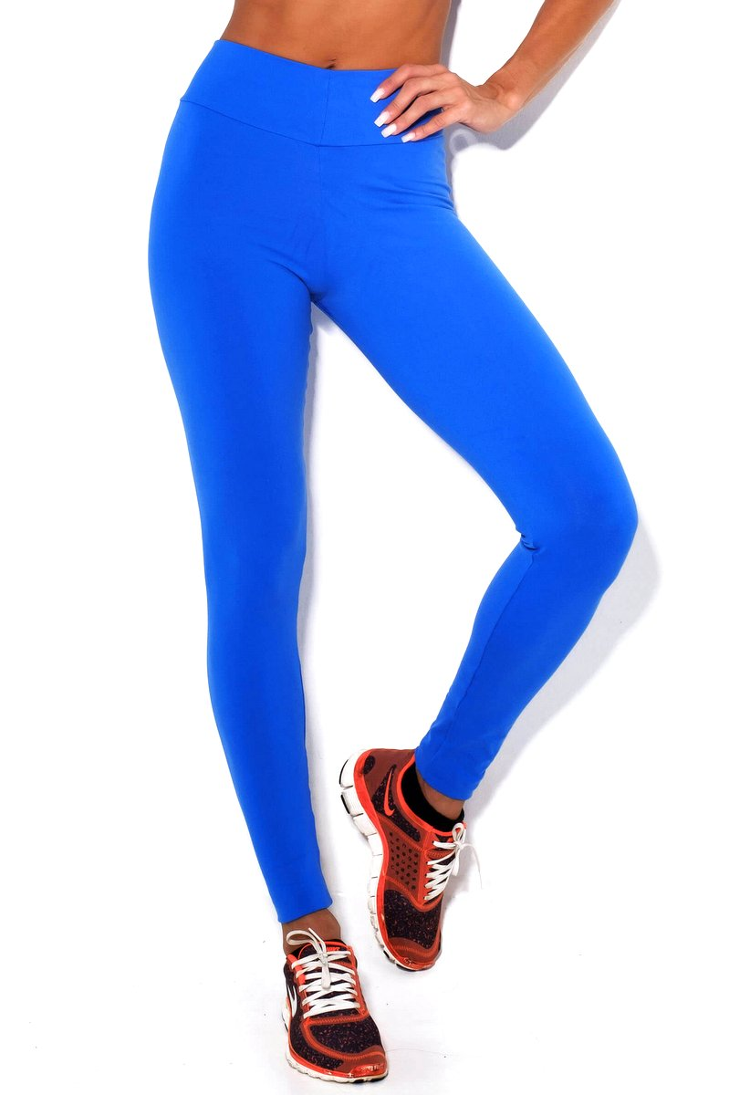 Canoan Calça Legging Comfort Azul 11129