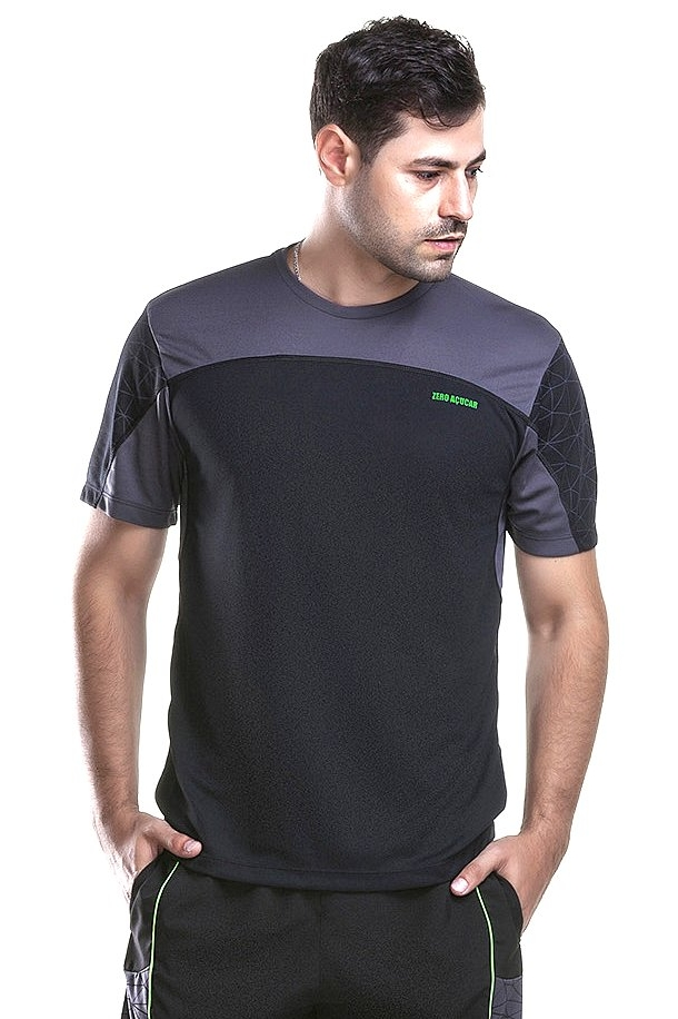 Zero Açucar Black Geometric T-Shirt 161069