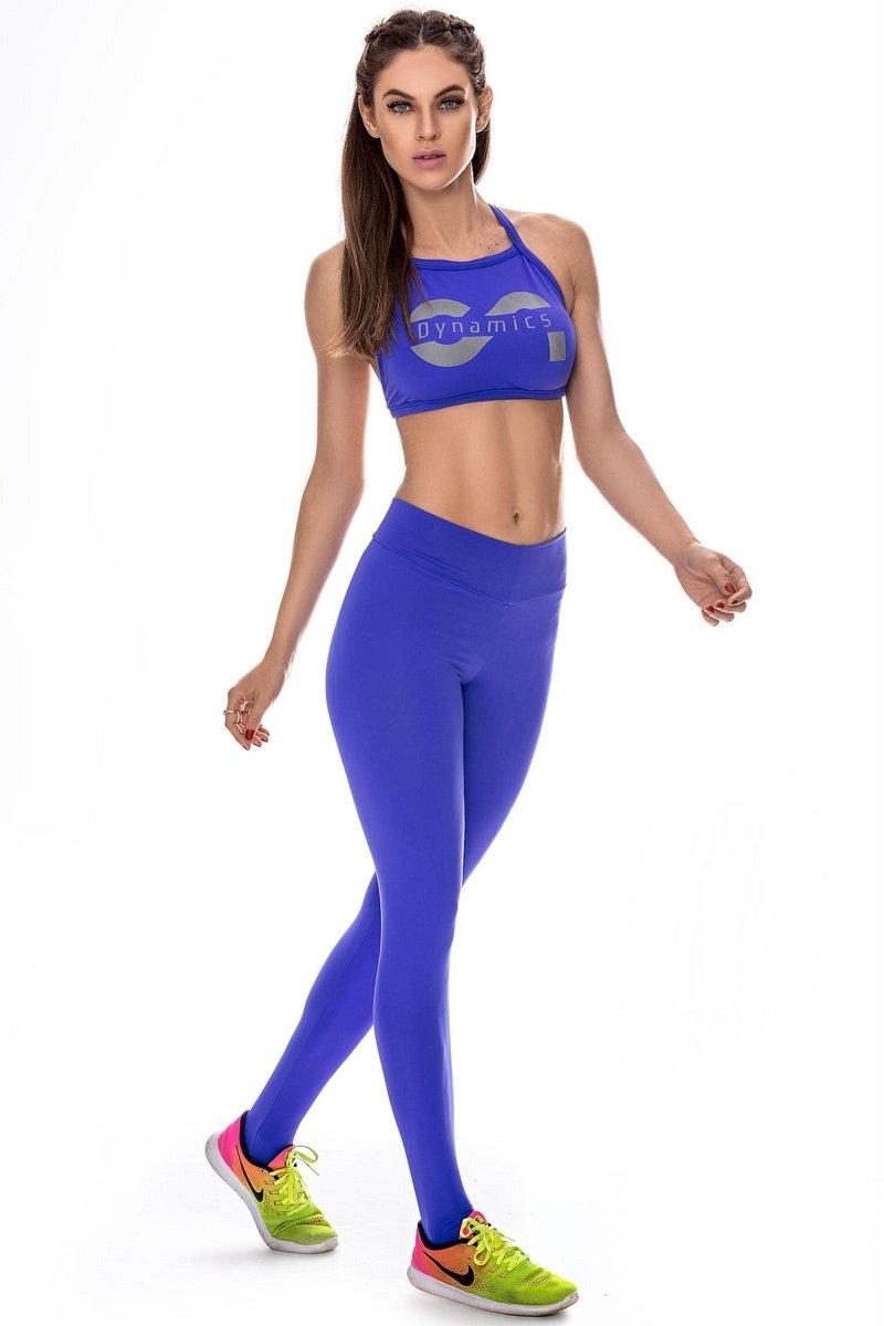 Canoan Calça Legging Comfort Azul Royal 11127