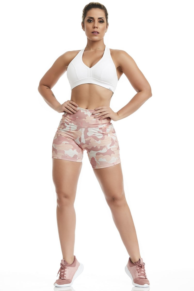 Caju Brasil Shorts Ft Cross Harmony Rosa 11297F6R33