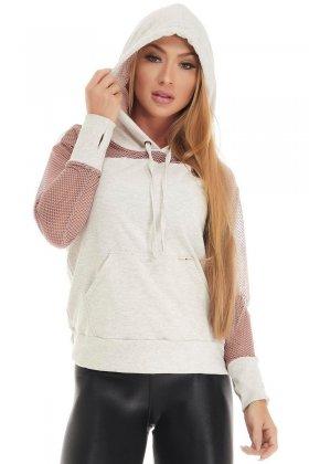 Blusa Essential Mescla Claro - Lets Gym B810A Fit You Fashion Fitness