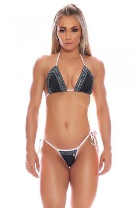 Maria Gueixa Black Logo Bikini Set 006025