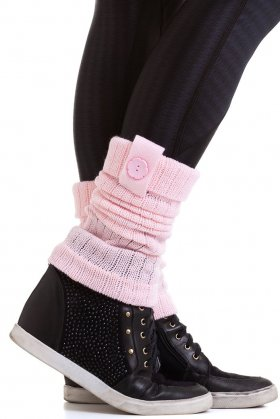 Fitness Gaiter Wool Rose Baby - Garotafit POL01D Garotafit Fashion Fitness e Praia