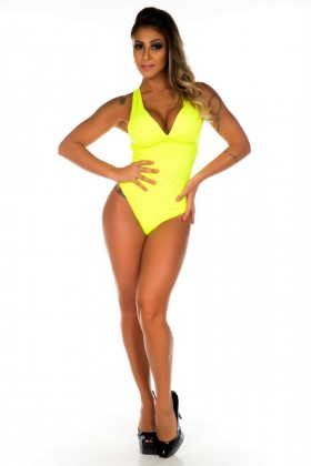 Body Bojo Neon - Garota Fit BOD01M Garota Fit Fashion Fitness e Praia