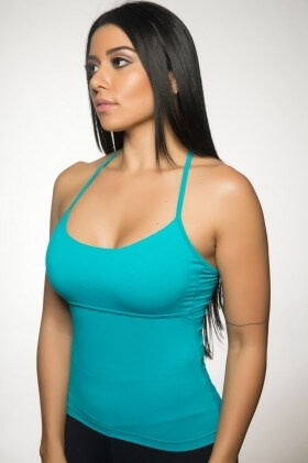 regata-quadrada-verde-garota-fit-blq01l Garota Fit Fashion Fitness e Praia