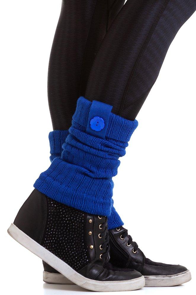 Garota Fit Polaina de Lã Azul Bic POL01P