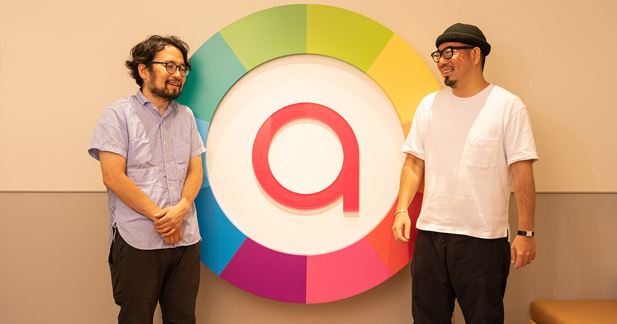 (左)寺原洋平さん、(右)後藤ヨシアキ