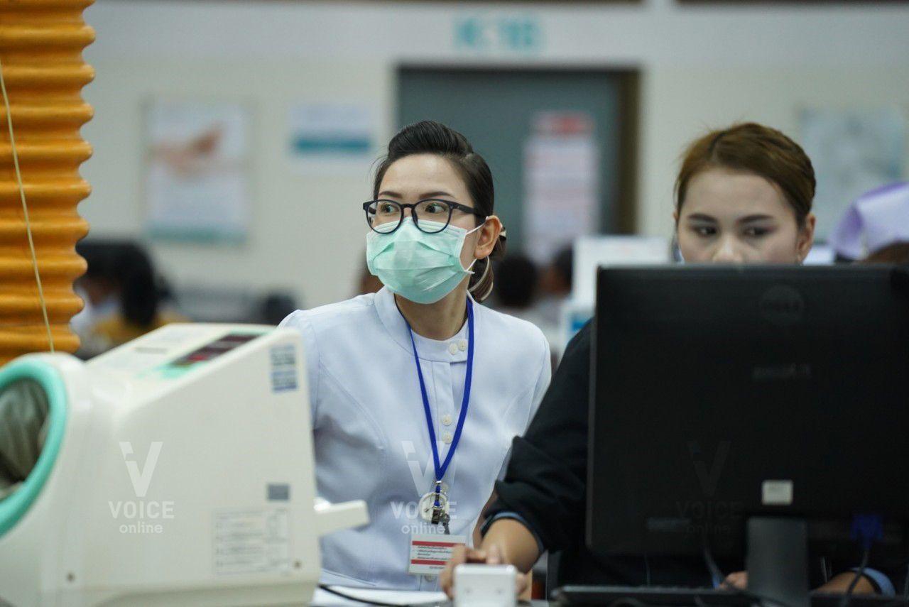 วอยซ์ทีวี-แจกหน้ากาก-เชียงราย-PM2.5-หน้ากาก N95-พยาบาล-โรงพยาบาล
