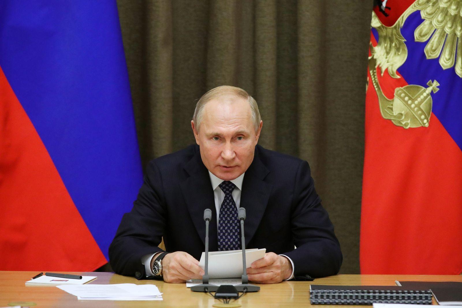 ปูติน - รัสเซีย - AFP