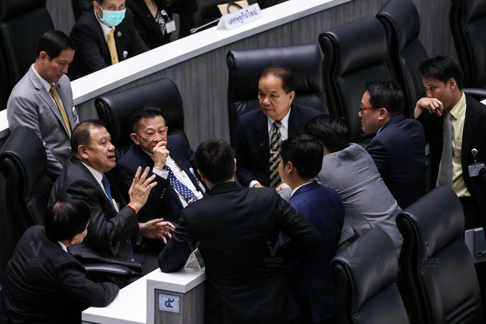 ฝ่ายค้าน เพื่อไทย พลังประชารัฐ วิป-วิปฝ่ายรัฐบาล-ประชุมสภา-การเมือง-วิรัช