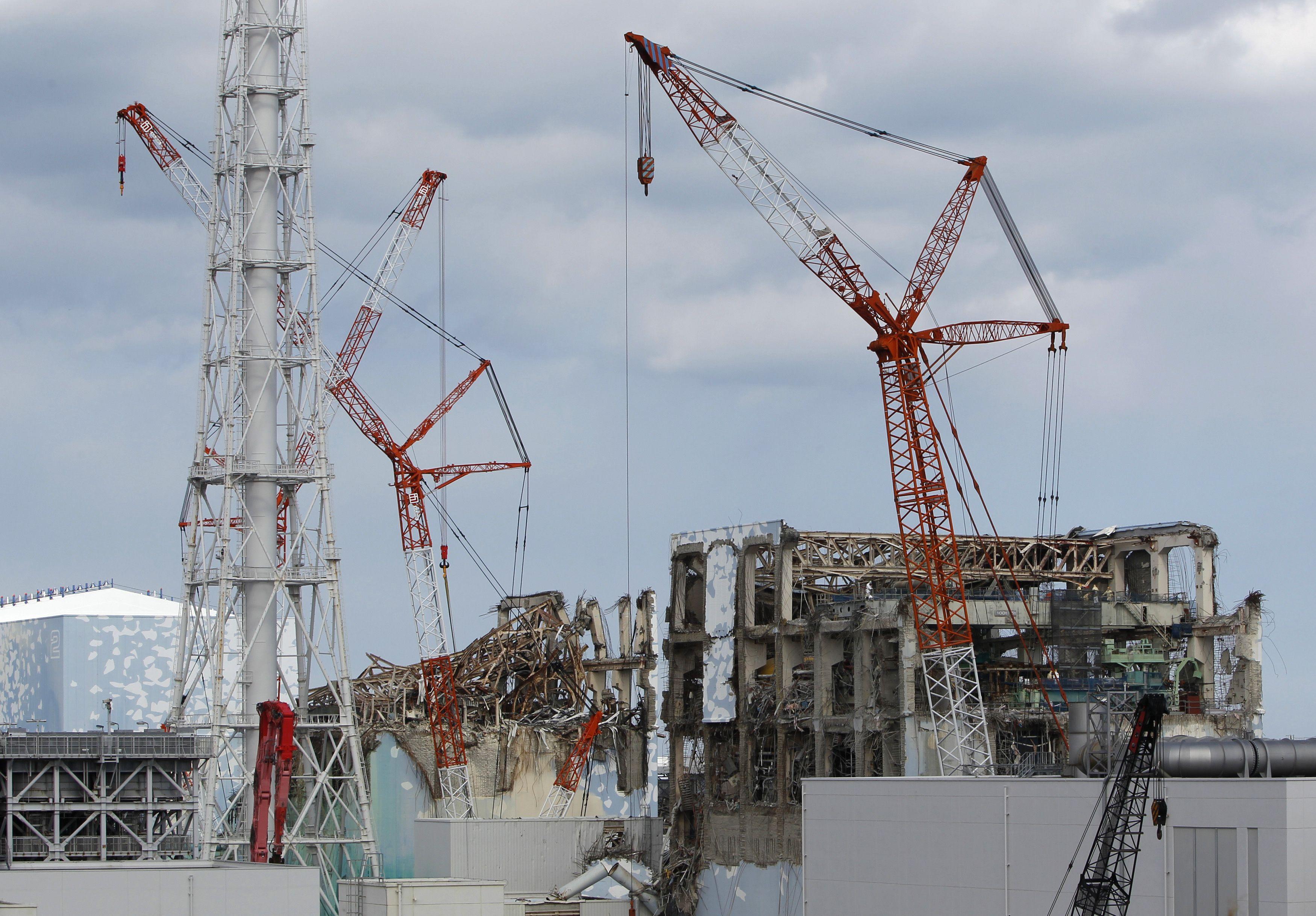 ญี่ปุ่น - ฟุกุชิมะ - โรงไฟฟ้านิวเคลียร์ - รอยเตอร์ส