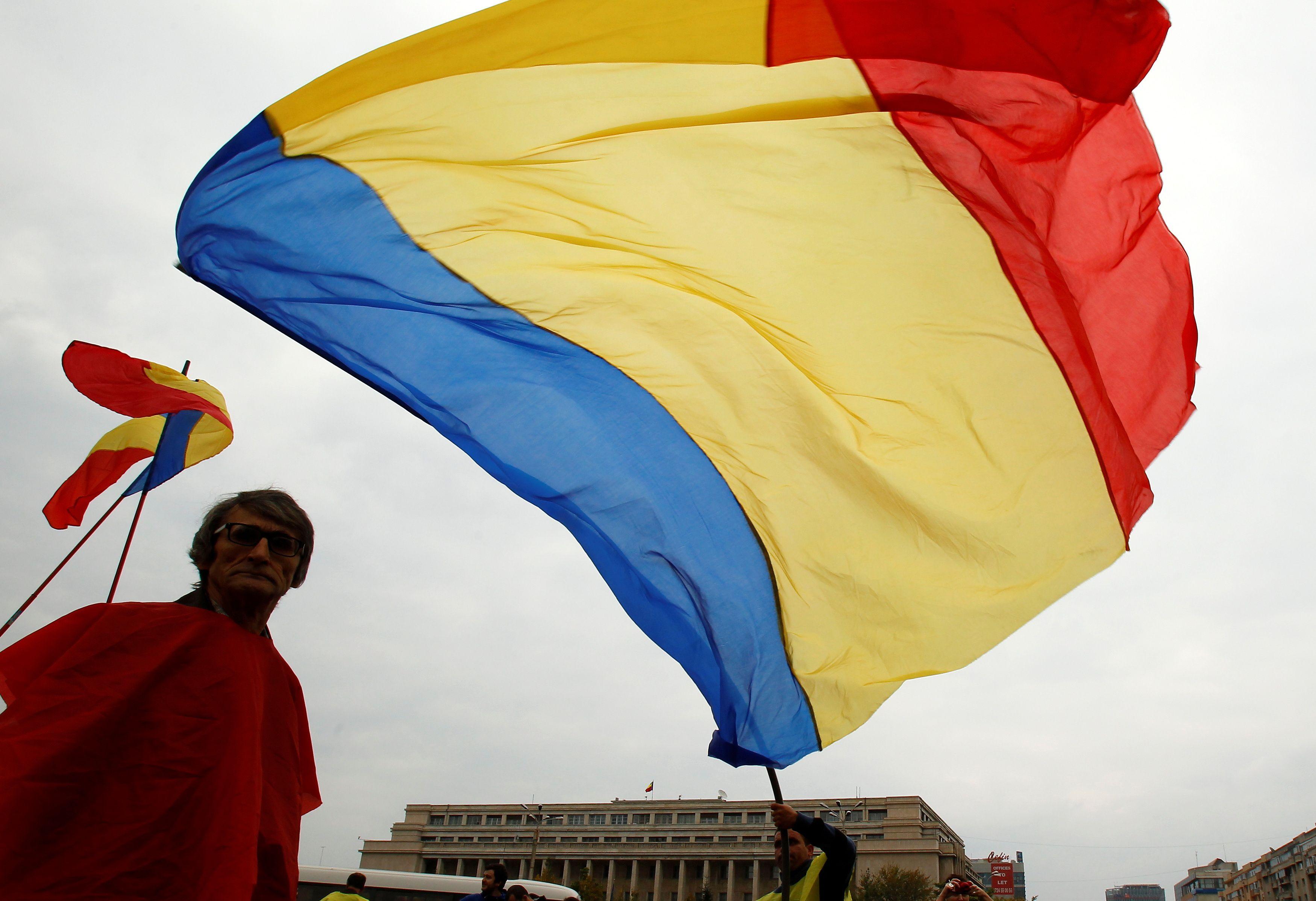 โรมาเนีย - ธง - รอยเตอร์ส