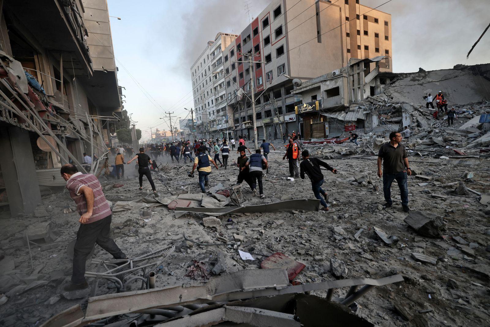 AFP - ฉนวนกาซา อิสราเอล ปาเลสไตน์ สงครามกลางเมือง