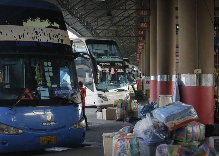บขส.เผยเทศกาลปีใหม่ 2562 คนใช้บริการรถโดยสารสาธารณะลดลงร้อยละ 10