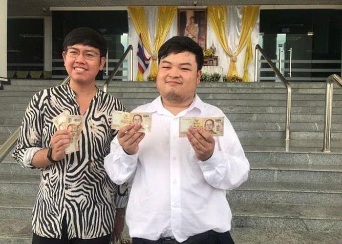 ศาลปรับ 'เพนกวิน'-'บอล ธนวัฒน์' 2,000 บาท คดีค้านเปิดเพลงหนักแผ่นดิน