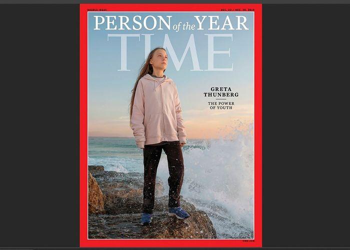 TIME ยกย่อง 'เกรียตา ธืนแบร์ก' เป็นบุคคลแห่งปี