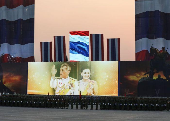 กองทัพไทยซักซ้อมสวนสนามถวายสัตย์ฯ พระราชพิธีบรมราชาภิเษก
