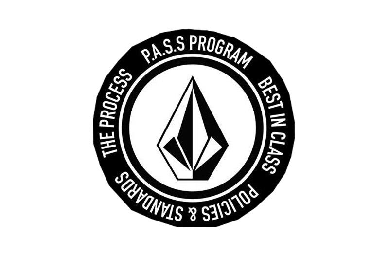 Volcom P.A.S.S. program logo