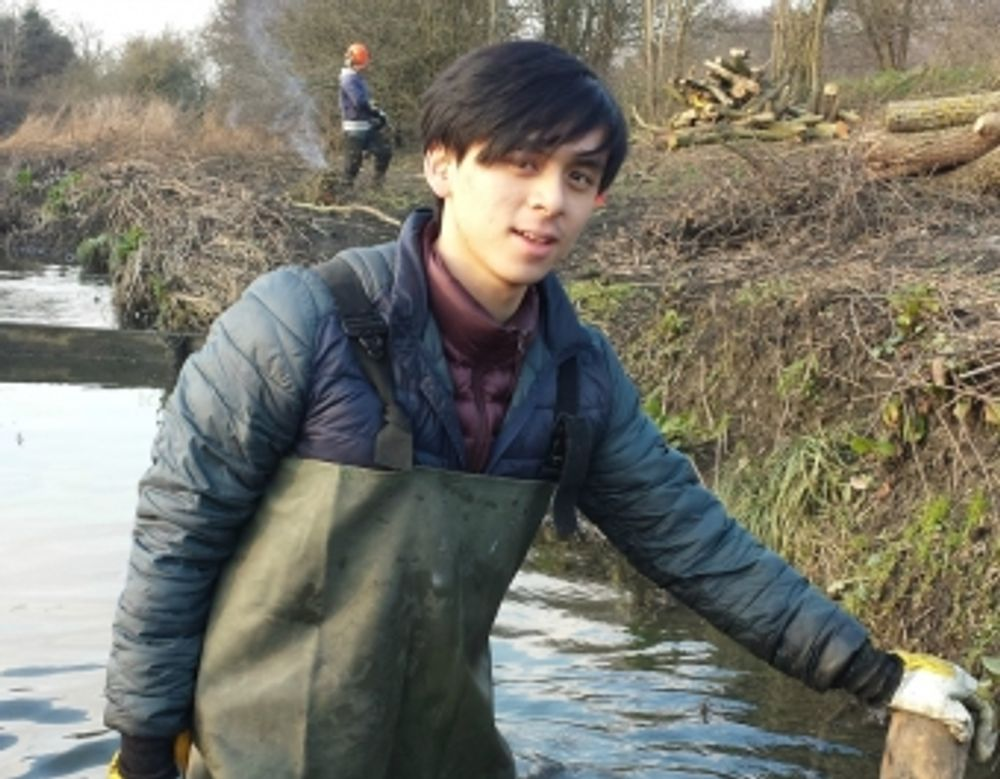 Ken Hy, a graduate who found that starting his own volunteering project sparked interest from employers