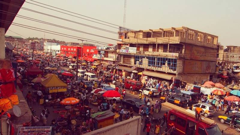Kejetia Market, our weekly trip into Kumasi