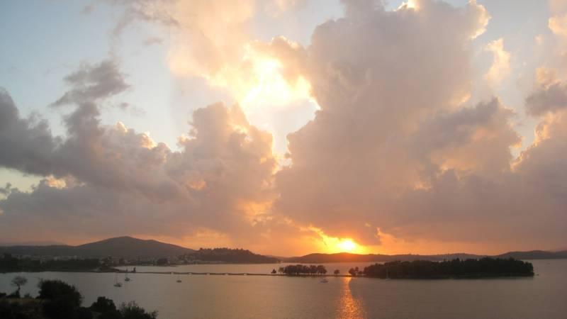 Sunset in Vonitsa