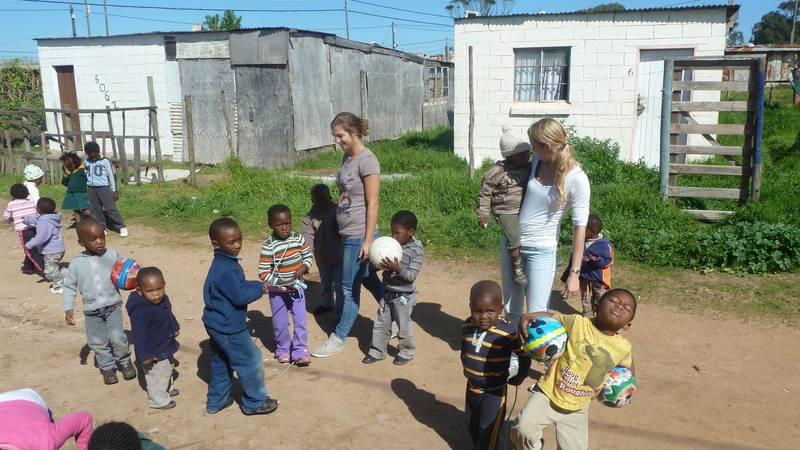Volunteering at preschool!