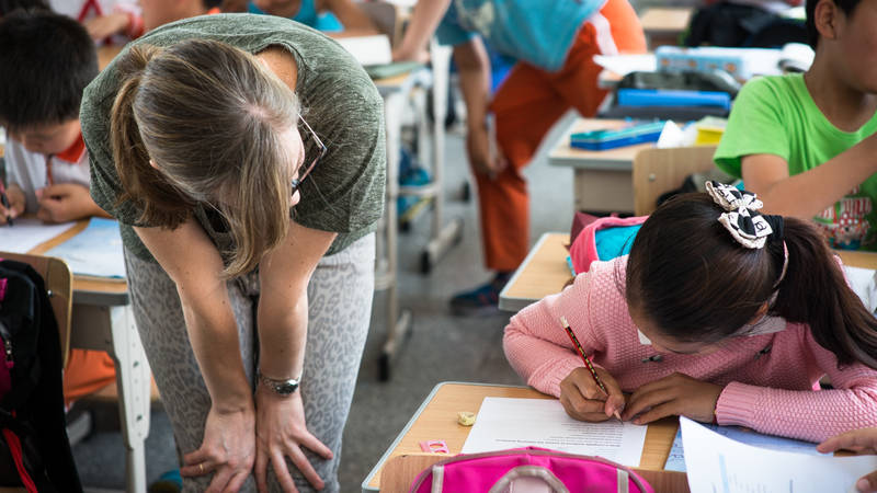 English Teacher to Migrant & Left-behind Children