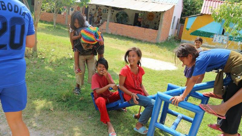 Assist and play with children