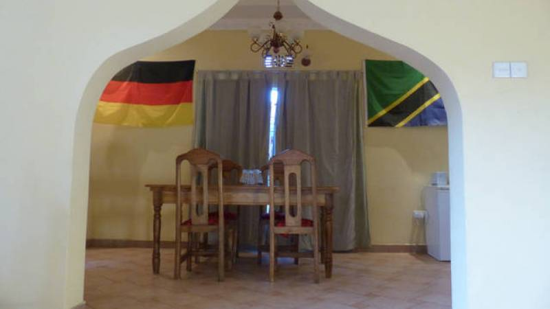 Accommodation: Dining room
