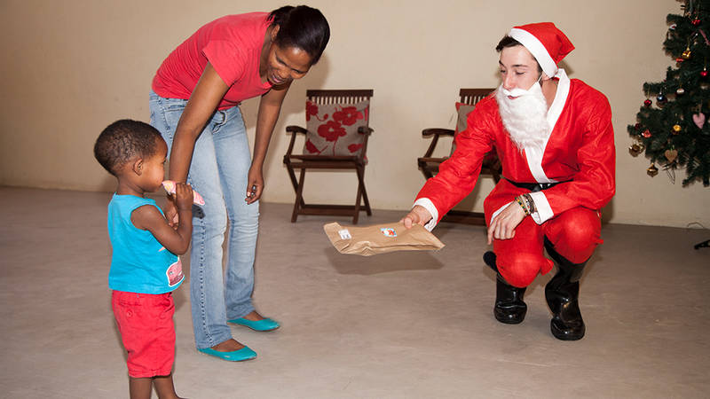 Volunteer to be a Santa Clause!