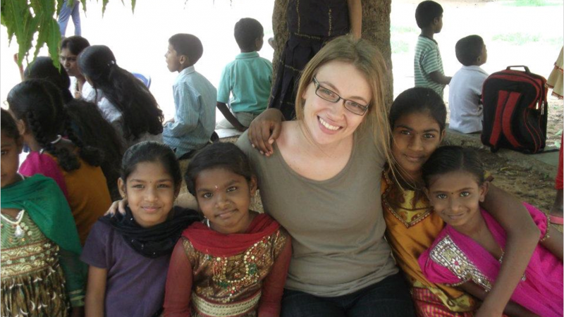 Volunteers with Kids - 2