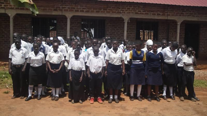 Bulange Senior secondary school parade