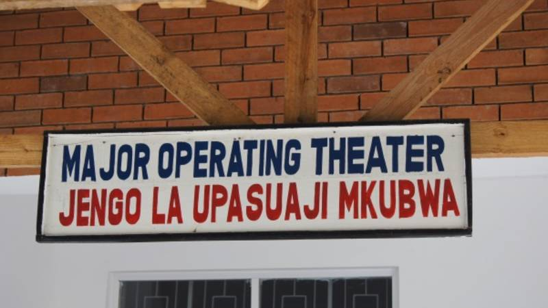 Major operating theater
