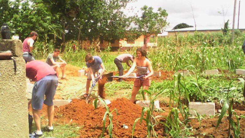 ground digging