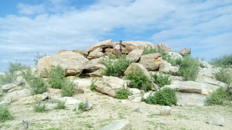 rocky environment