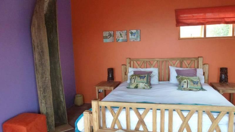Volunteer accommodation bedroom