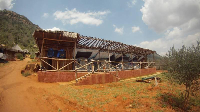 Accommodation at Tsavo, Kenya