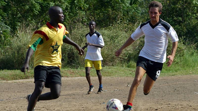 Play Football in Ghana