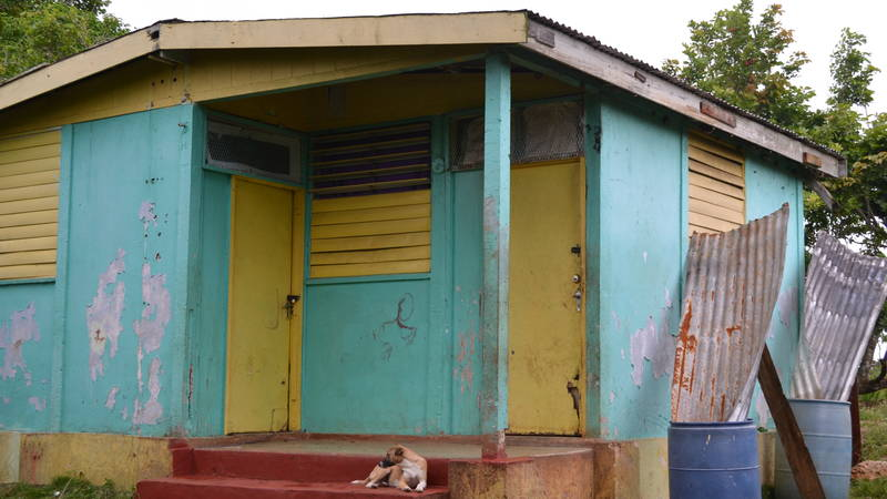Home in need of repairs for mother and children